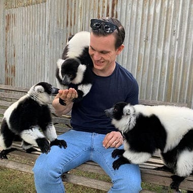 Black & White Ruffed Lemur Encounter